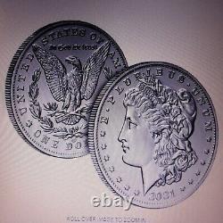US Mint 2021 Morgan Silver Dollar with CC Privy Mark PRE-SALE! Confirmed Order
