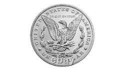 US Mint Morgan 2021 Silver Dollar with CC Privy Mark Pre-Order