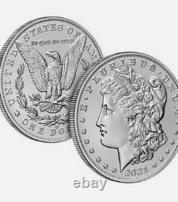 US Mint Morgan 2021 Silver Dollar with CC Privy Mark Pre-Order! Carson City