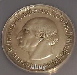 Westphalia/westfalen 1 Billion Mark 1923 Silvered 11,113 Mint. Ms62 Ngc